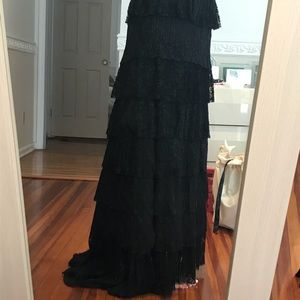 Dresses & Skirts - Saint John tiered lace gown skirt retail  $1195